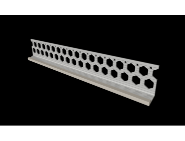15mm dove grey PVC bellcast bead