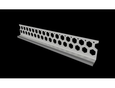 15mm slate grey PVC bellcast bead