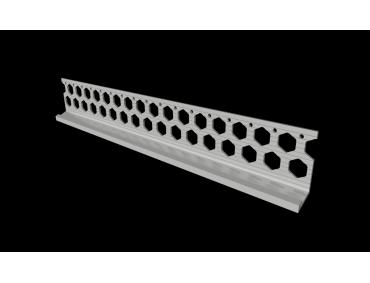 15mm arctic white PVC bellcast bead