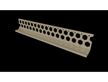 20mm ivory cream PVC bellcast bead