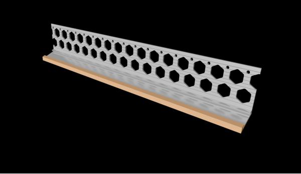 20mm peach PVC bellcast bead