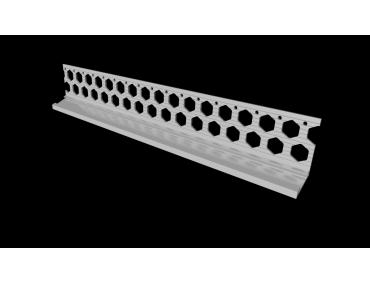 20mm white PVC bellcast bead