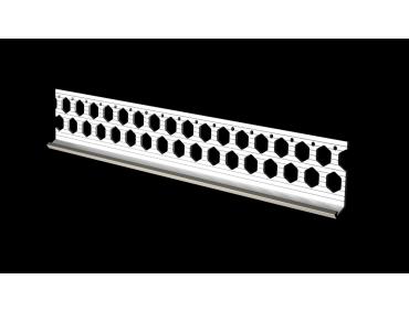 10mm dove grey PVC bellcast bead