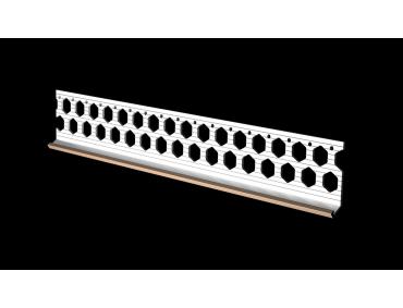 10mm salmon pink PVC bellcast bead