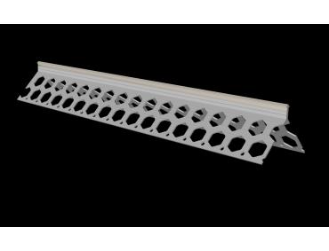 10mm dove grey PVC corner bead
