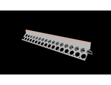 15mm salmon pink PVC corner bead