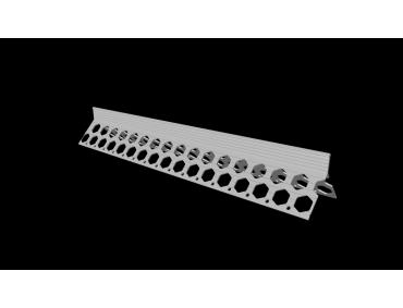 15mm arctic white PVC corner bead