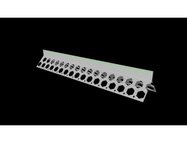 15mm willow green PVC corner bead