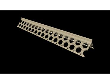 6mm ivory cream PVC corner bead