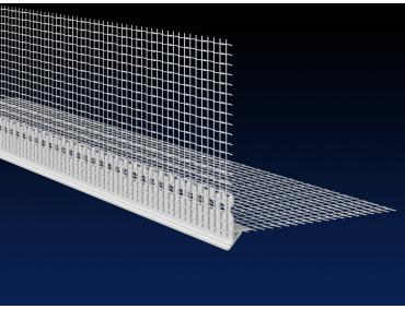 2.0m PVC EWI reveal drip profile 2.0m with mesh