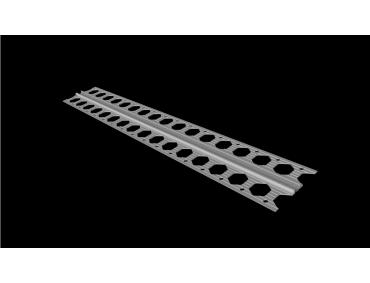 4mm white PVC movement joint