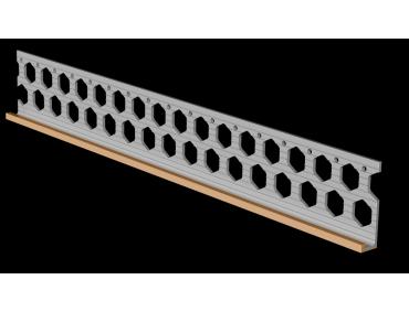 10mm peach PVC render stop bead
