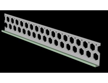 10mm willow green PVC render stop bead